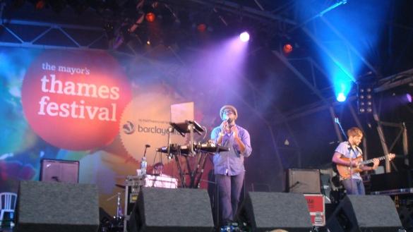 Ghostpoet, Thames Festival, 04.09.2011, by Aaron Lee