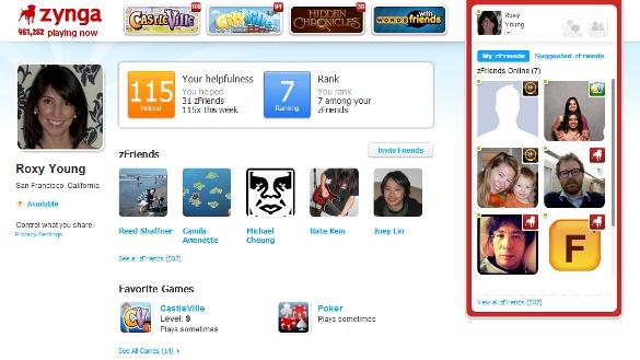 Zynga.com profile page (Mar 2012)
