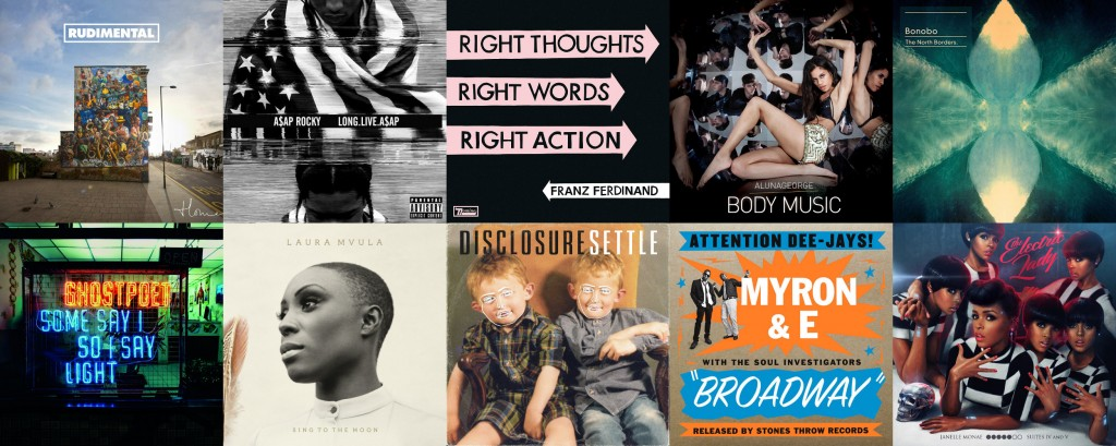 Aaron's best albums of 2013 collage 10-01 (2500x1000)
