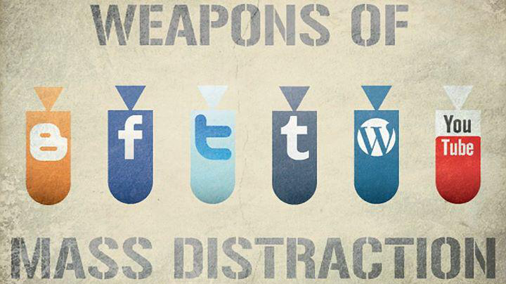 Weapons of mass distraction. Mar 27, 2012, by birgerking (720x404)