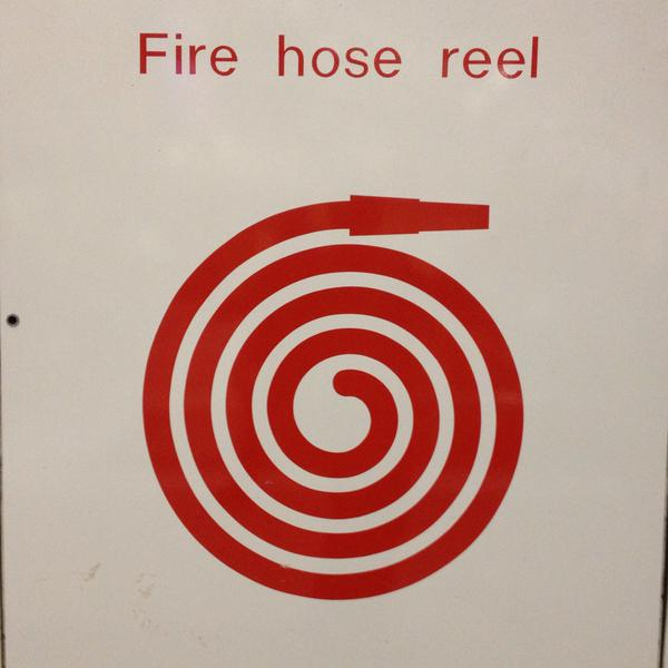 Dreamcast fire hose, Apr 18, 2015, by Aaron Lee (600x600)
