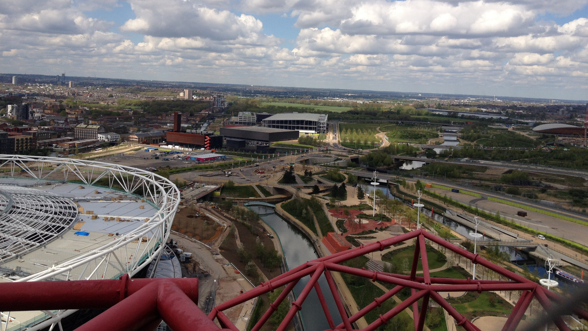 Olympic Park, London, Apr 27, 2015, by Aaron Lee, 04 Orbit Ldn view