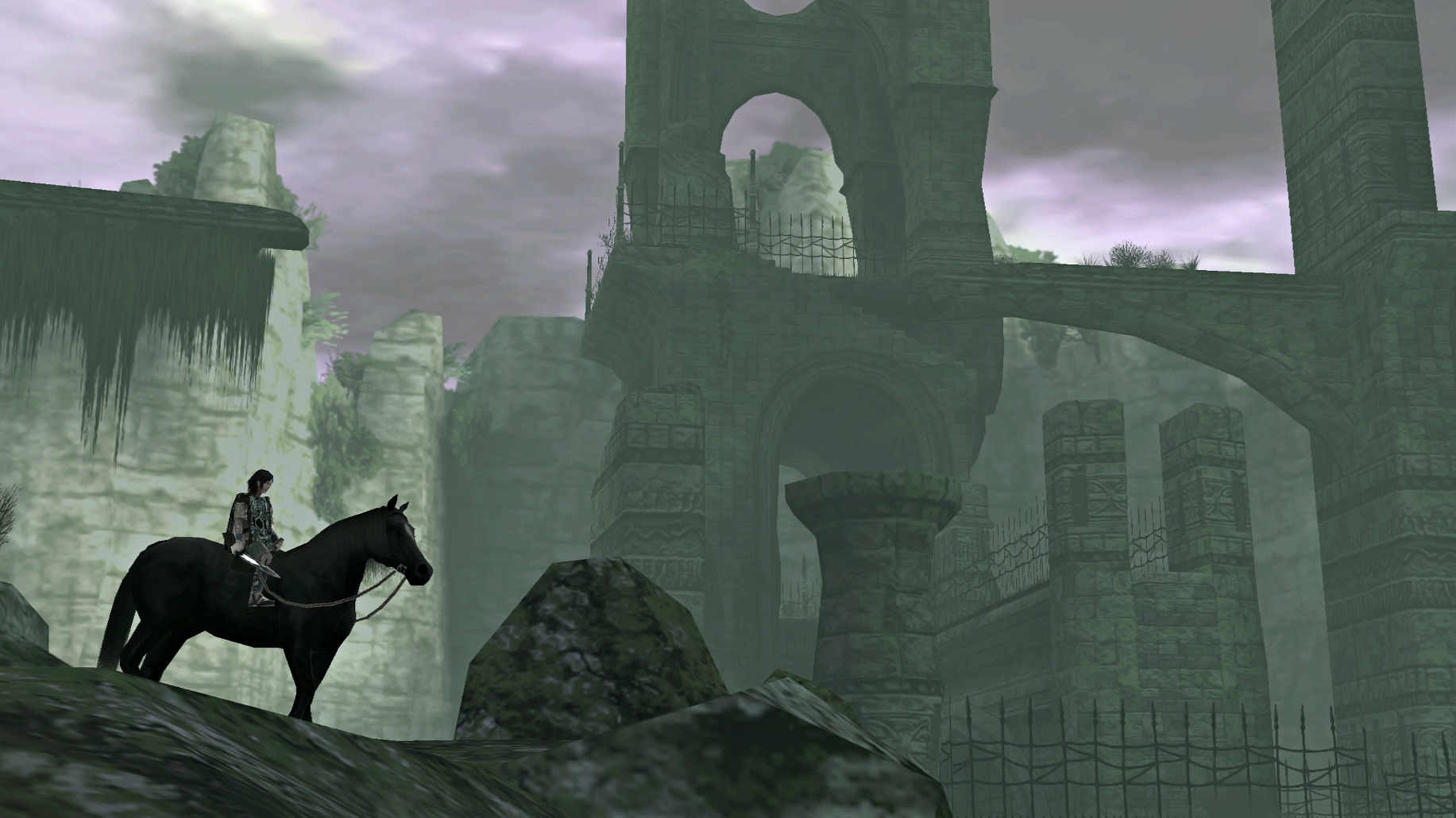 Shadow of the Colossus, Avion 00 Arena (1833x1030)