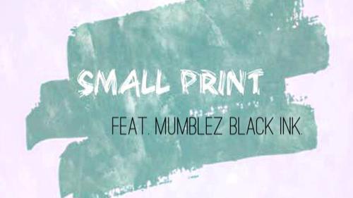 Kahlia Bakosi - Small Print single (500x281)