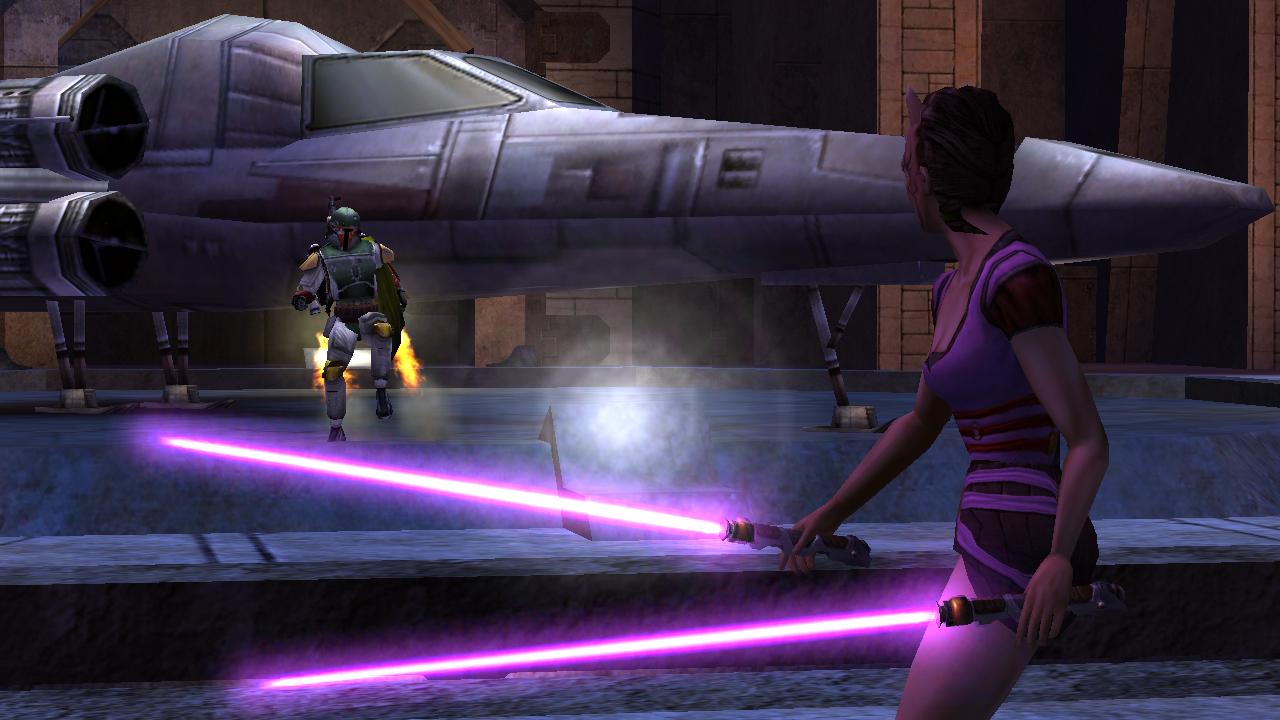 Star Wars Jedi Knight: Jedi Academy, 01, Boba Fett (1280x720)